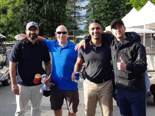 cpabc surrey chapter - a year ago golf event