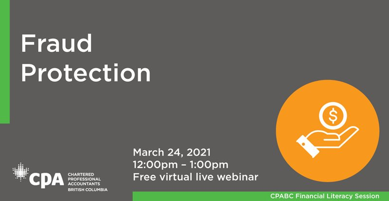 CPABC Financial Literacy Free Webinar Session- March 24