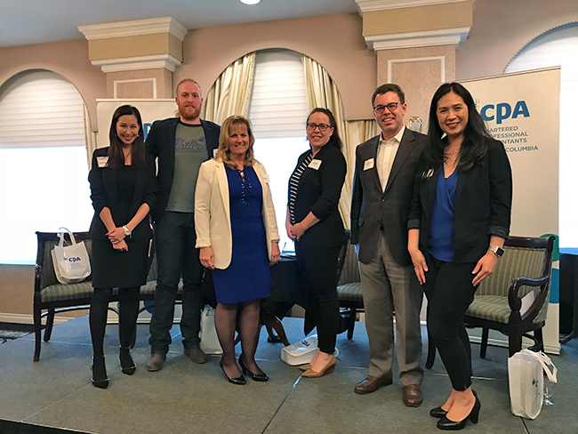 CPABC Careers in Accounting Panel 2019