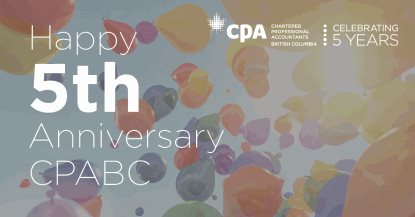 Happy 5th Anniversary CPABC!