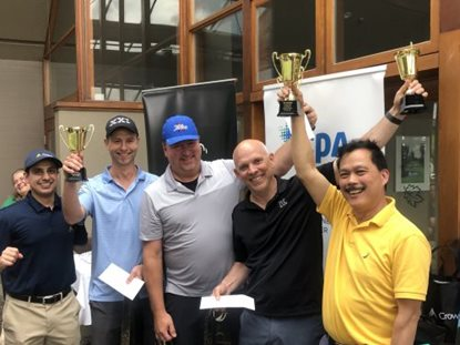 A Year Ago…. the Chapter Hosted the Annual Golf Tournament